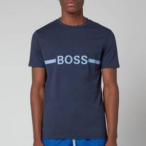BOSS Bodywear Men's Sun Protection T-Shirt - Navy