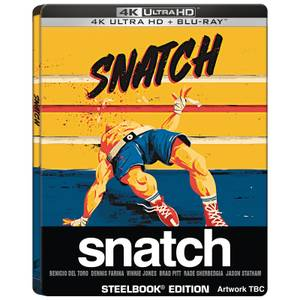 Snatch (2000) - Steelbook 4K Ultra HD (Blu-Ray inclus) 20e Anniversaire - Exclusivité Zavvi