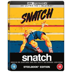 Snatch (2000) - Zavvi Exclusive 20th Anniversary 4K Ultra HD Steelbook (Includes Blu-ray)