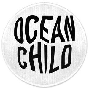 Ocean Child Round Bath Mat