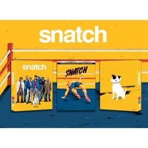 Snatch (2000) - Zavvi Exclusive 20th Anniversary 4K Ultra HD Steelbook with Slipcase (Includes Blu-ray)
