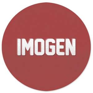 Embossed Imogen Round Bath Mat
