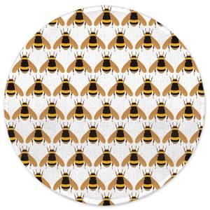 Bee Round Bath Mat