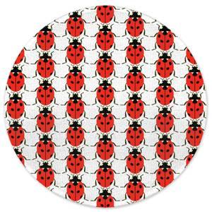 Lady Bird Round Bath Mat