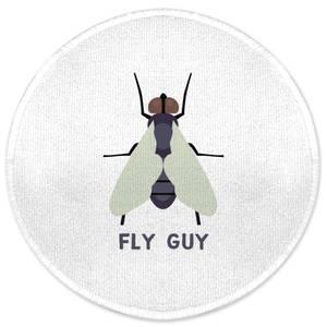 Fly Guy Round Bath Mat