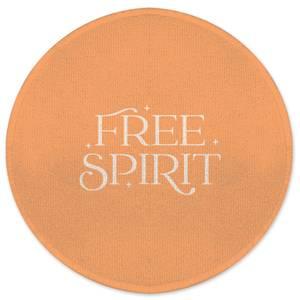 Free Spirit Round Bath Mat