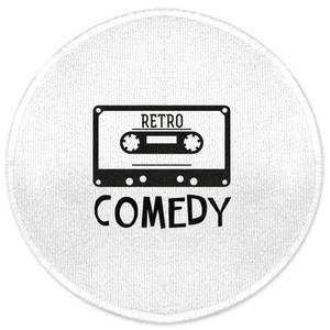 Retro Comedy Round Bath Mat