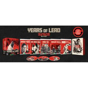 Years of Lead: Five Classic Italian Crime Thrillers 1973–1977 - Limited Edition