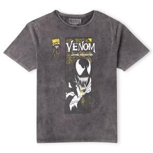 Venom Lethal Protector Unisex T-Shirt - Black Acid Wash