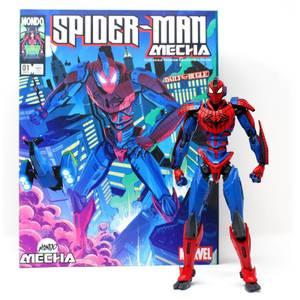 Mondo Marvel Mecha 10in Figure - Spider-Man