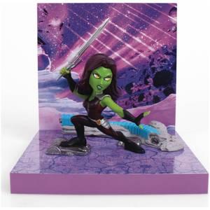 The Loyal Subjects Superama Marvel Comics Figural Diorama - Gamora