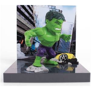 The Loyal Subjects Superama Marvel Comics Figural Diorama - Hulk