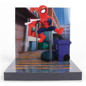 The Loyal Subjects Superama Marvel Comics Figural Diorama - Spider-Man