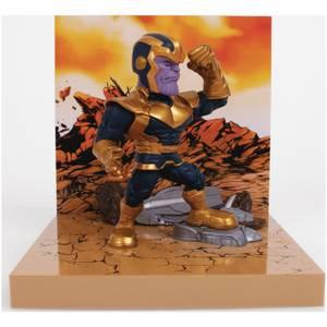 The Loyal Subjects Superama Marvel Comics Figural Diorama - Thanos