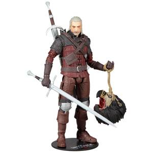 McFarlane The Witcher 3: Wild Hunt 7 Inch Action Figure - Geralt Of Rivia (Wolf Armor)