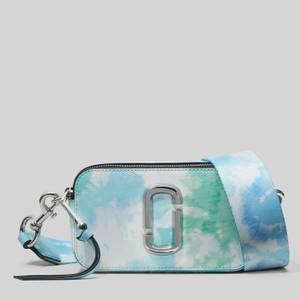 Marc Jacobs Women's Tie Dye Snapshot Cross Body Bag - Blue Multi