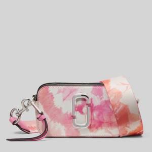 Marc Jacobs Women's Tie Dye Snapshot Cross Body Bag - Pink Multi