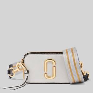 Marc Jacobs Women's Snapshot Metallic Cross Body Bag - Platinum Multi