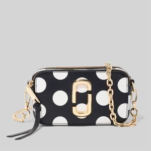 Marc Jacobs Women's Dot Chain Snapshot Cross Body Bag - New Black Multi