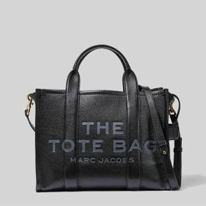 Marc Jacobs Women's The Small Leather Tote Bag - Black