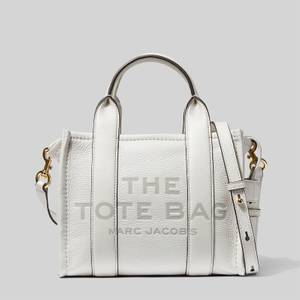 Marc Jacobs Women's The Mini Leather Tote Bag - Cotton