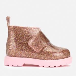 Mini Melissa Toddler's Mini Chelsea Boots - Pink Multi Glitter