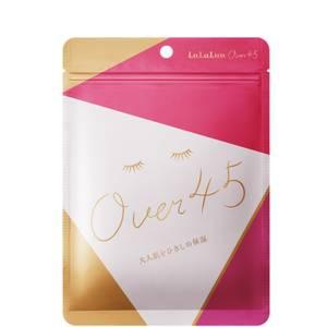 Lululun Over 45 Sheet Mask - Camelia Pink (7 Sheets)
