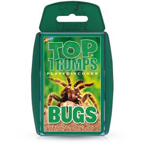 Top Trumps Card Game - Bugs Edition