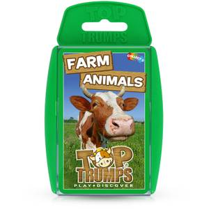 Top Trumps Card Game - Farm Animals Edition