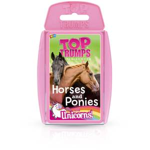 Top Trumps Card Game - Horses Ponies and Unicorns Edition