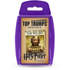 Top Trumps Card Game - Harry Potter and the Prisoner of Azkaban 2021 Edition