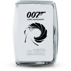 Top Trumps Card Game - James Bond Every Assignment Edition