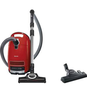 Miele Complete C3 Cat & Dog PowerLine bagged vacuum cleaner Autumn Red