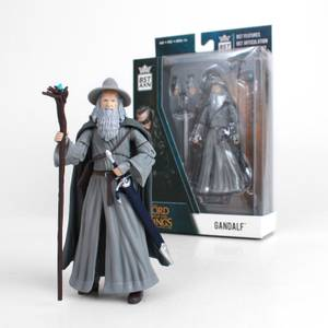 The Loyal Subjects BST AXN Lord Of The Rings 5in Action Figure - Gandalf the Grey