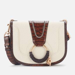 See by Chloé Women's Recycled Hana Canvas Cross Body Bag - Cement Beige
