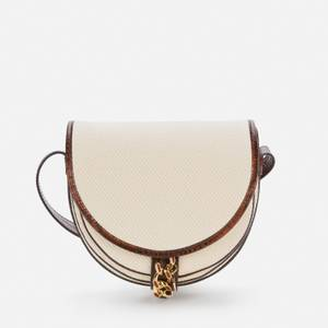See by Chloé Women's Recycled Mara Canvas Shoulder Bag - Cement Beige