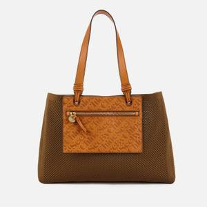 See by Chloé Women's Recycled Large Tote Bag - Night Forest