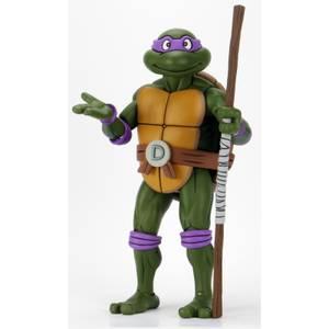 NECA TMNT Cartoon Giant-Sized Donatello Figurine articulée Échelle 1/4 Les Tortues Ninja