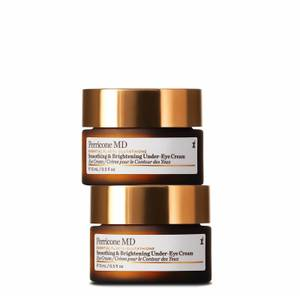 Brightening and Smoothing Under-Eye Cream Duo