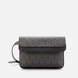 Salvatore Ferragamo Men's Cross Body Bag - Black/Grey