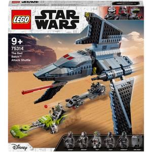 LEGO Star Wars: The Bad Batch Attack Shuttle Set (75314)
