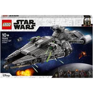 LEGO Star Wars: Imperial Light Cruiser Baby Yoda Set (75315)