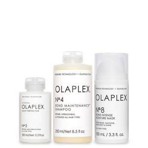 Olaplex No.3, No.4 and No.8 Bundle