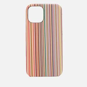 PS Paul Smith Men's iPhone 12 Signature Stripe Case - Multi