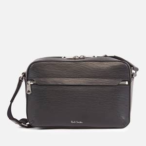 PS Paul Smith Men's Leather Camera Bag - Black