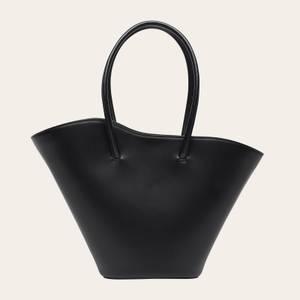 Little Liffner Women's Tall Tulip Tote Bag - Black