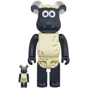 Medicom Shaun The Sheep 100% X 400% Be@rbrick 2 Pack