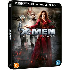 X-Men : L'affrontement final - Steelbook Lenticulaire 4K Ultra HD en Exclusivité Zavvi (Blu-ray inclus)