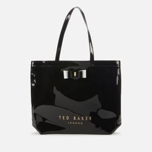 Ted Baker Women's Hanacon Bow Large Icon Bag - Black