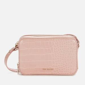 Ted Baker Women's Stina Double Zip Mini Camera Bag - Mid-Pink